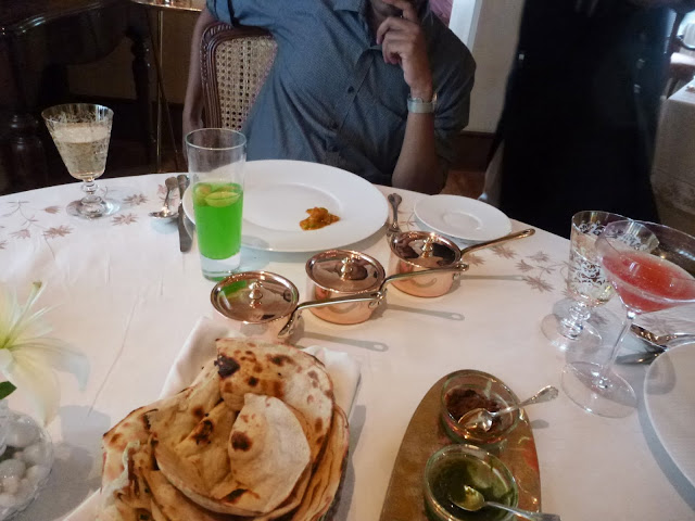 Lunch at Falaknuma Palace