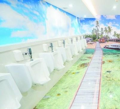 Toilet Bandara Sepinggan 3 Dimensi