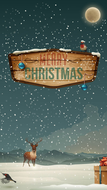 Merry Christmas iPhone 6 wallpapers
