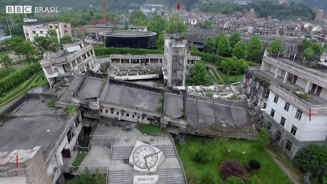 As cidades desertas devastadas por terremoto que viraram atração turística