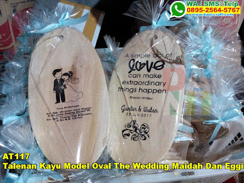 Harga Talenan Kayu Model Oval The Wedding Maidah Dan Eggi