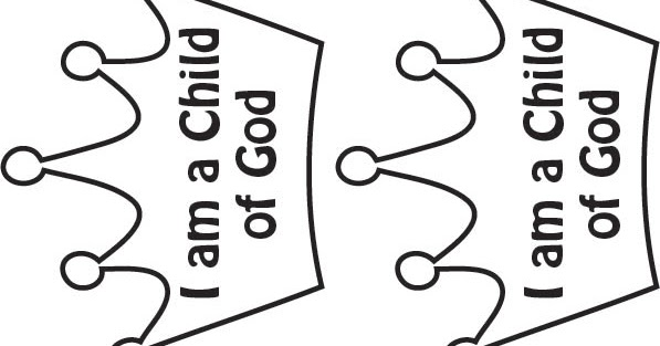 Serving Others As We Go: I am a Child of God Crown
