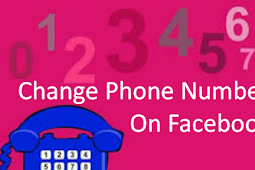 How to Change Phone Number On Facebook