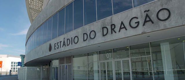 Estádio do Dragão no Porto