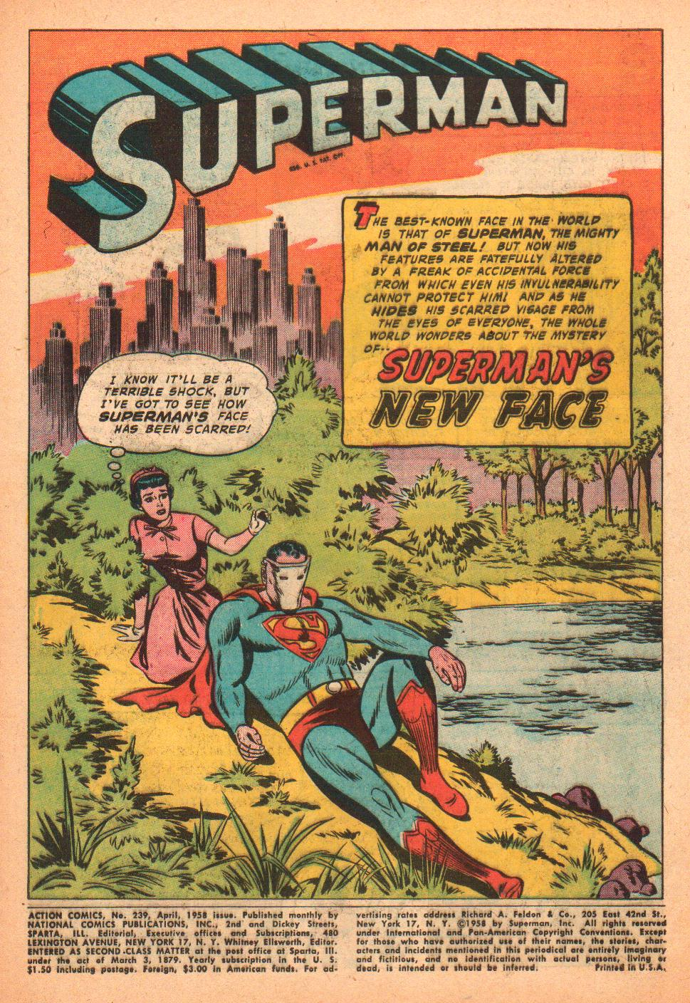 Read online Action Comics (1938) comic -  Issue #239 - 3