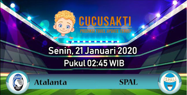 Prediksi pertandingan Atalanta vs SPAL 21 Januari 2020