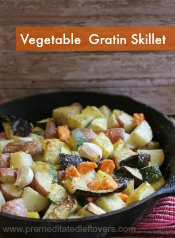 Vegetable Gratin Skillet from Premeditated Leftovers