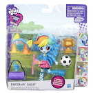 MLP Equestria Girls Minis Pep Rally School Pep Rally Set Rainbow Dash Figure