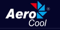 Logo oficial AEROCOOL - marca gamer