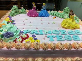 Princess Tessa Princess Birthday cake