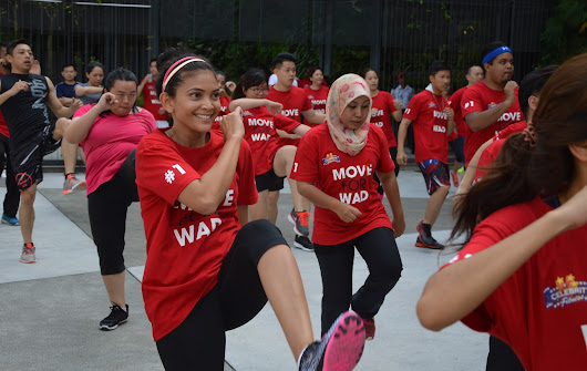 Celebrity Fitness Malaysia throws workout party to raise awareness of World AIDS Day