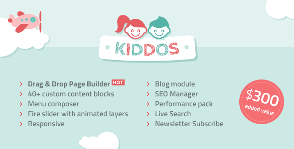 Download Kiddos - Hand Crafted Kids OpenCart Theme