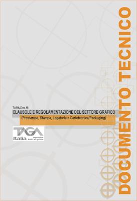 Clausole e regolamentazione del settore grafico: TAGA.DOC.18
