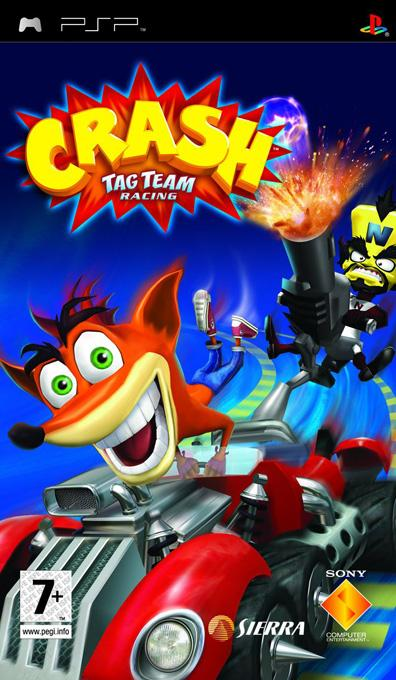 crash team racing - Download PSP Games For Free-CRASH Tag Team Racing