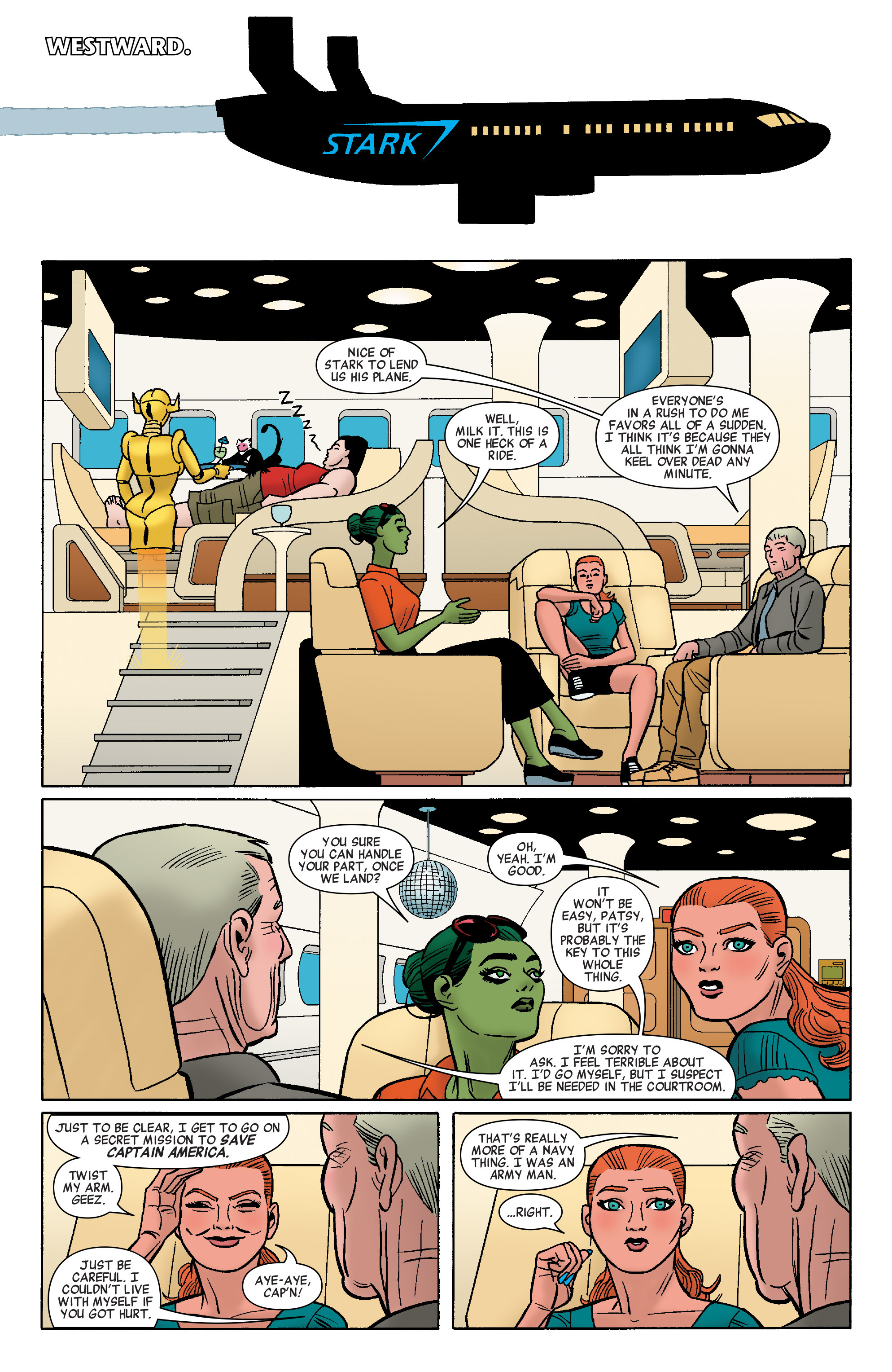 Read online She-Hulk (2014) comic -  Issue #8 - 12