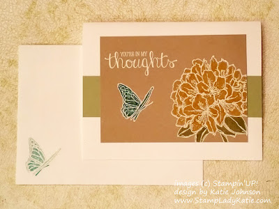 Stampin'UP!'s Best Thoughts stamp set