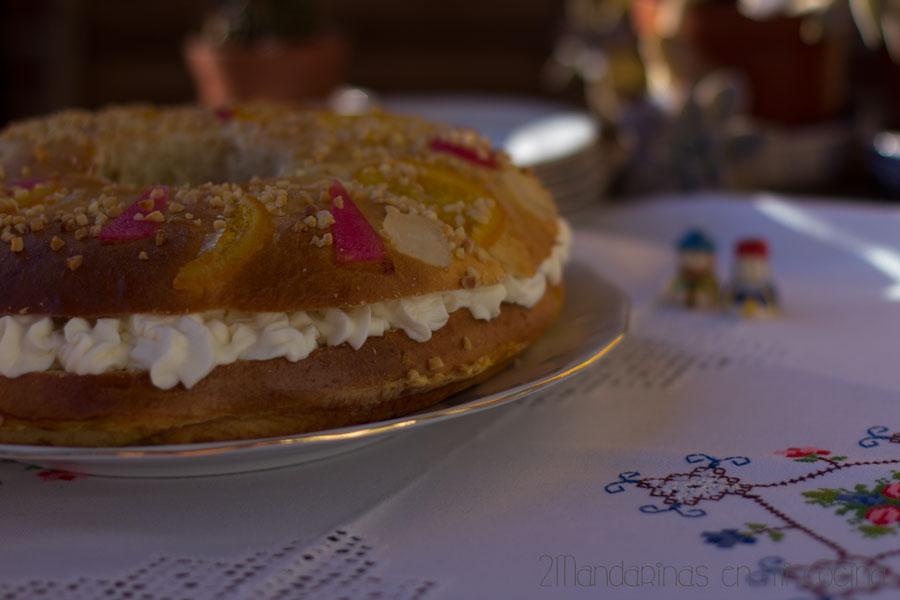Receta de Roscón de Reyes tradicional. Receta fácil