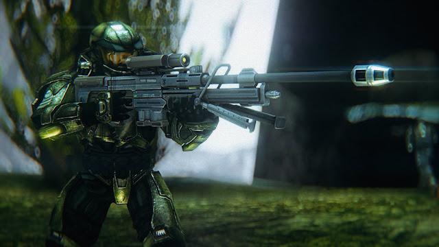 Halo 2, Halo 3, Halo 3: ODST, and Halo 4