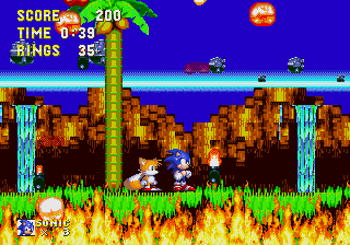 Sonic 3 Unlocked: Act transitions, part 2: Angel Island Zone