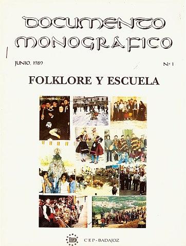 FOLKLORE Y ESCUELA
