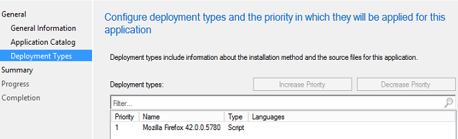 Today I Learned: Application Creation in SCCM without MSI