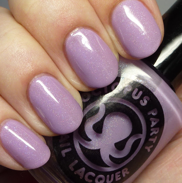 Octopus Party Nail Lacquer Easy-Bake Coven