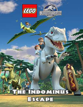Lego Jurassic World 2016 Dual Audio 720p HDRip 300MB Hindi ESubs Download