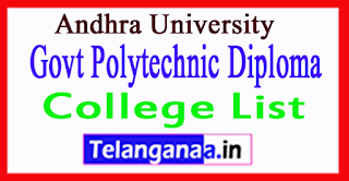 AP AU Vizayanagaram District Govt Polytechnic Diploma College