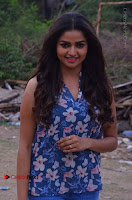 Nithya Ram Pos in Skinny Jeans at SUN TV Nandini Serial Press Meet .COM 0002.jpg