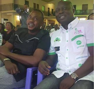 Odunlade Adekola and Mr Latin