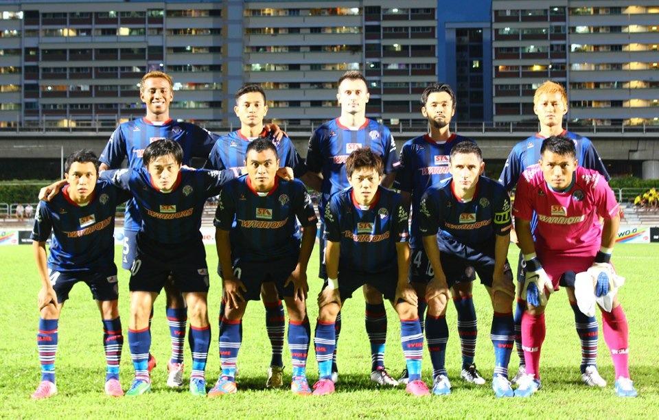 SVOLME SINGAPORE: Warriors FC 2013