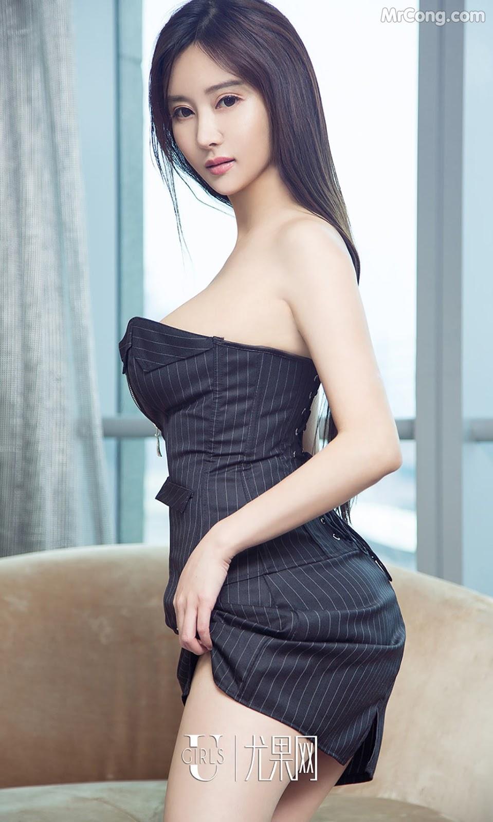 Image UGIRLS-Ai-You-Wu-App-No.790-MrCong.com-002 in post UGIRLS – Ai You Wu App No.790: Người mẫu Han Yu Chan (韩雨婵) (40 ảnh)