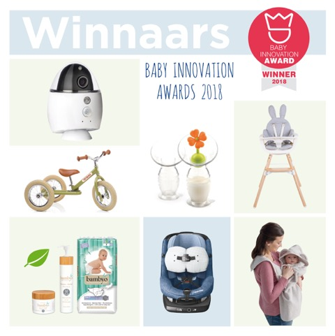 Winnaars Baby Innovation Awards 2018