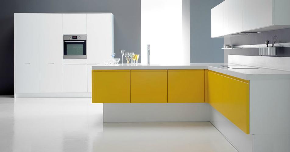El amarillo en la cocina tambi n luce cocinas con estilo for Ideas para disenar tu cocina
