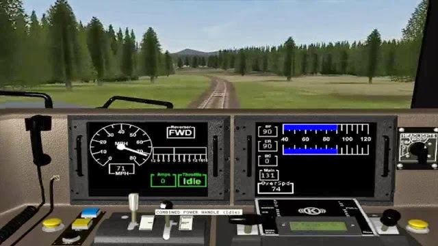 Microsoft Train Simulator PC Games Gameplay