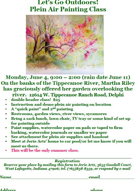 Let's Go Outdoors! Plein Air Painting Class