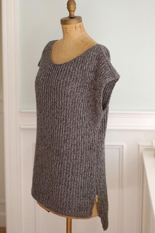 Mimic Pullover - Free Pattern