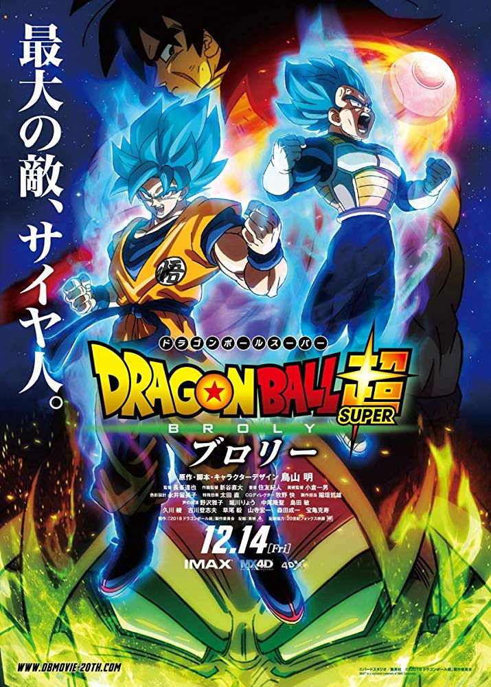 Download Dragon Ball Super: Broly (2018) Subtile Indonesia