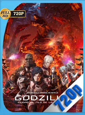 godzilla : Ciudad al filo de la batalla (2018)HD [720P] Latino [GoogleDrive] DizonHD
