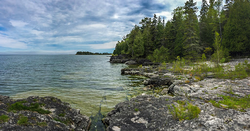 Toft Point State Natural Area in Bailey's Harbor Door County