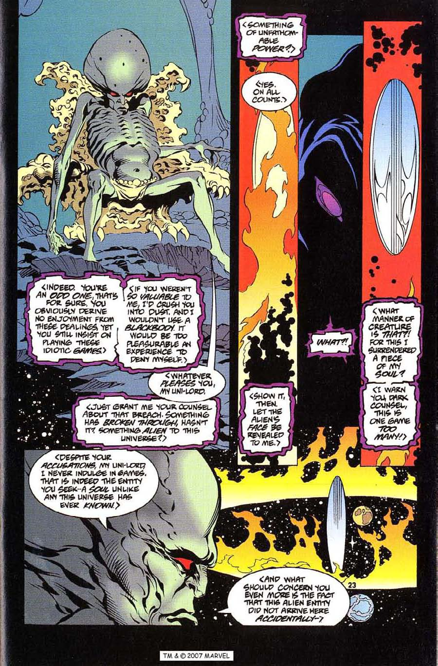 Silver Surfer (1987) Issue #112 #120 - English 25