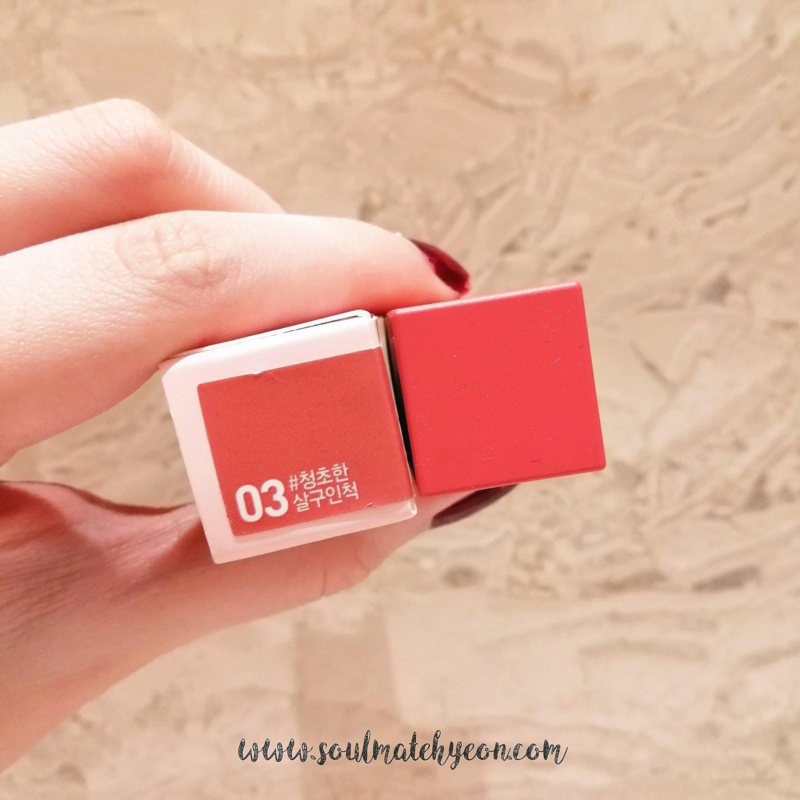 Sensible Lilybyred Mood Liar Velvet Tint 6 Color Lip Color Cosmetic Mlbb Other Lip Makeup