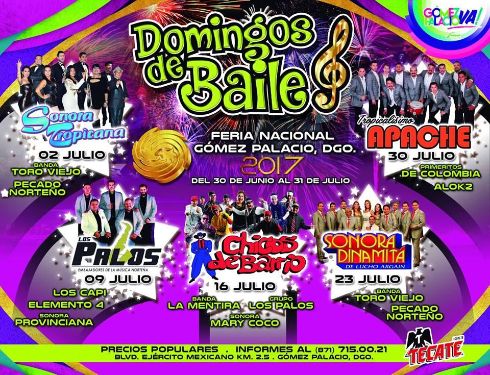 Bailes en Gomez Palacio