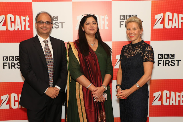 (L - R) Mr. Punit Misra, CEO - Domestic Broadcast Business, Zee Entertai...