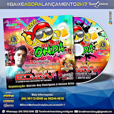 CD VOL 02 BLOCO ME DEU ONDA DE JACUNDA