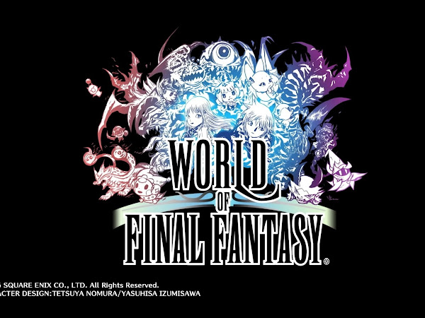 World of Final Fantasyn ensivaikutelma