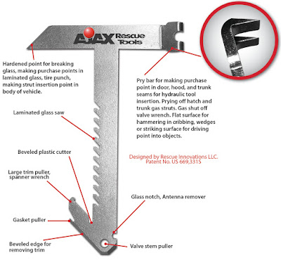Ajax Rescue Tools Extrication Tomahawk