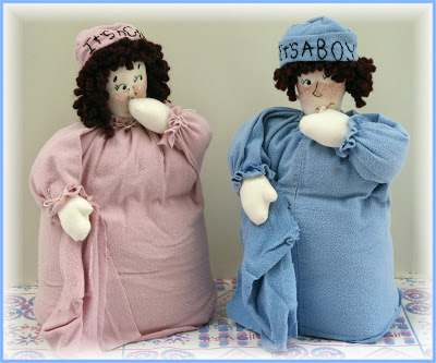 It's A Girl! It's A Boy! Centerpiece Dolls Baby Shower Products