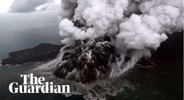 βίντεο: Η ώρα της έκρηξης του ηφαιστείου που προκάλεσε το φονικό τσουνάμι στην Ινδονησία