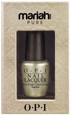 Opi Mariah Release 18k White Gold And Silver Topcoat